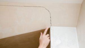 sagging ceiling